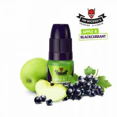 Mr Wickeds E-liquid - Apple and Blackcurrant