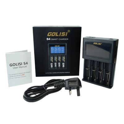 Golisi S4 2.0A Smart Charger with LCD Screen and Lead