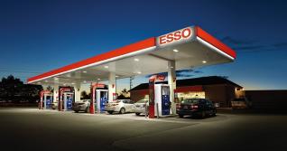ESSO Tankstelle BAB Südseite
