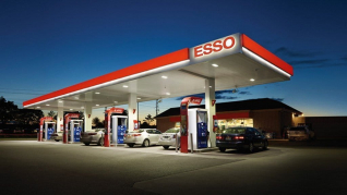 Esso Tankstelle Aachen Europaplatz