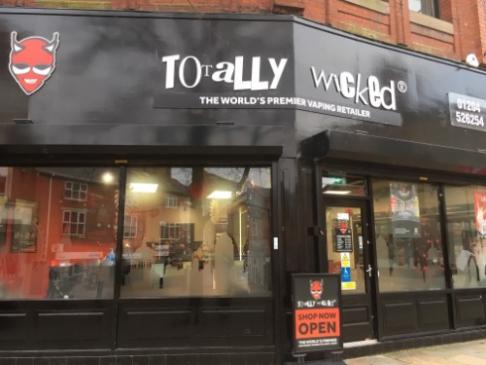 Bolton Totally Wicked vape shop photo