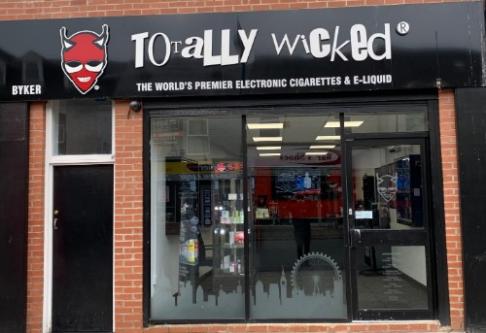 Byker Totally Wicked Vape Shop Photo