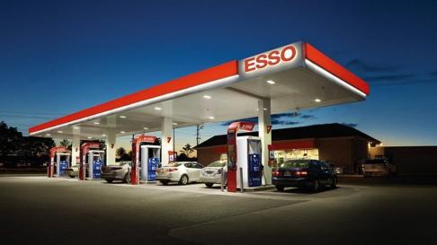Esso Tankstelle Haag in Oberbayern