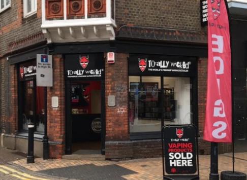Maidenhead Totally Wicked vape shop photo