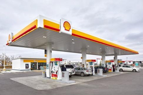Shell Tankstelle Barbing