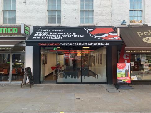 Hammersmith Totally Wicked vape shop photo