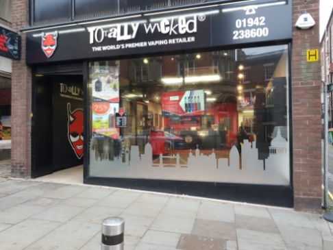 Wigan Totally Wicked vape shop photo
