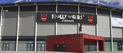 The Totally Wicked Stadium, St. Helens