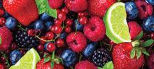 Fruit / Spice flavour e-liquids by Red Label