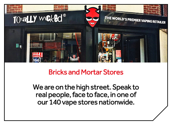 Bricks and Mortar Vape Stores