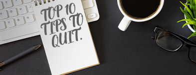 10 Tips to stop smoking