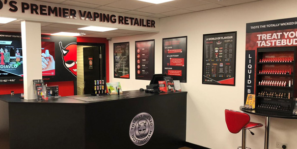 Inside a Totally Wicked Vape Store
