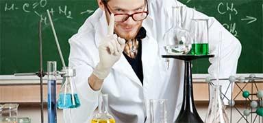 scientist experiment