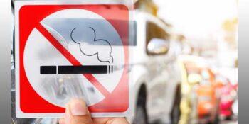 no smoking in cars