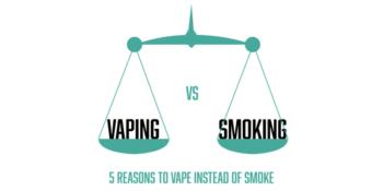 vaping v smoking