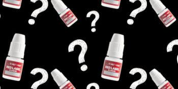 Bottles of e-liquid for online reviews