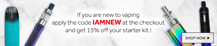 New to vaping