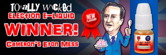 Totally Wicked Election e-liquid winner