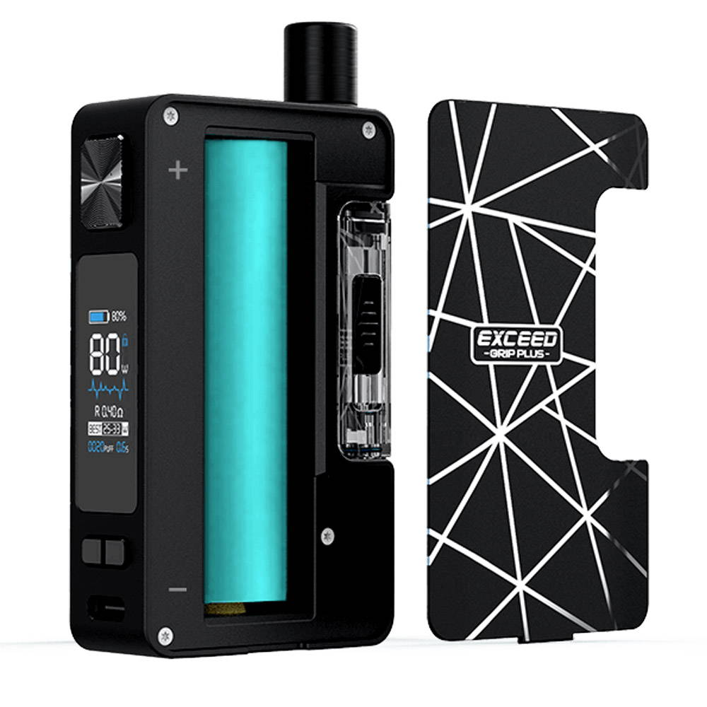 joyetech exceed grip plus feature removeable battery