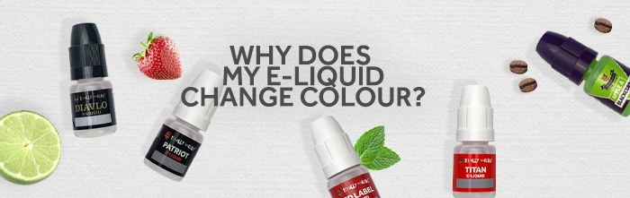 Why does my eliquid change colour