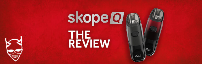Skope Q vape pod the review