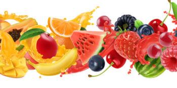 Vape juice flavours