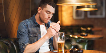 Ban on smoking in pubs