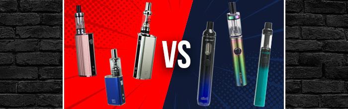 Vape pens vs Box mods