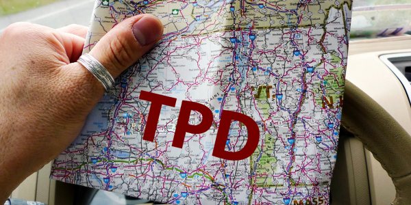 TPD map