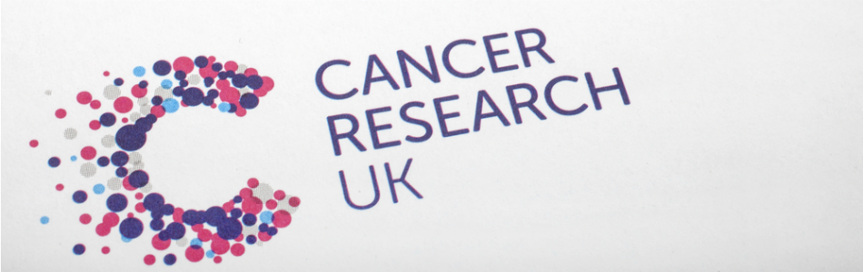 Image of letter from cancer research UK