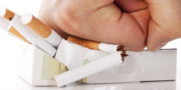 Crushed cigarettes