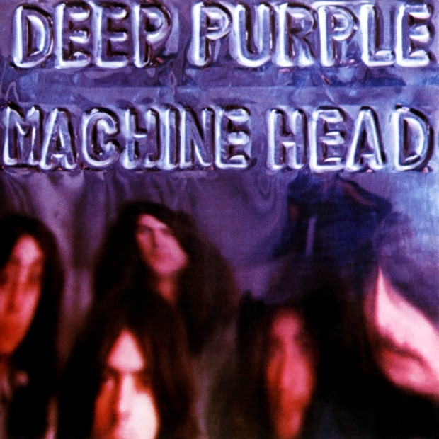 Depp purple machine head cover