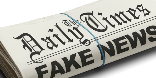 Image of fake news articles