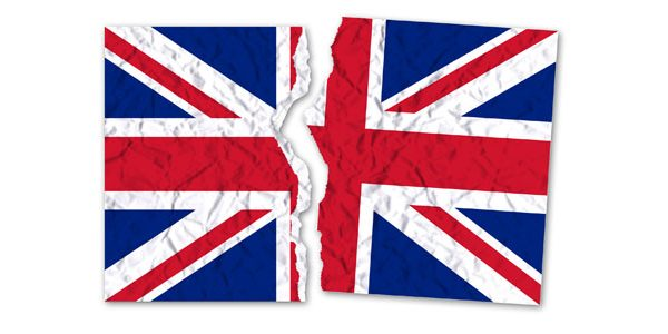 UK broken flag