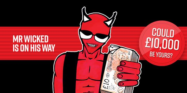Totally Wicked cash giveaway