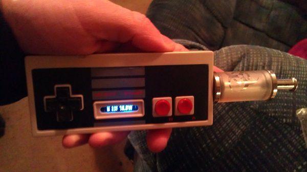 Craziest Vape Mods - Nintendo E-cig