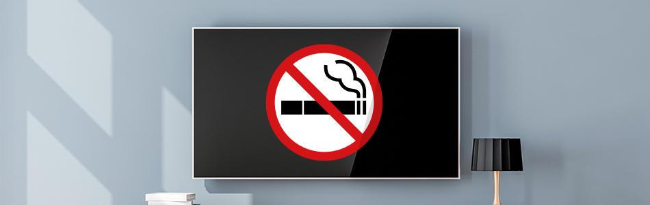 on-screen smoking