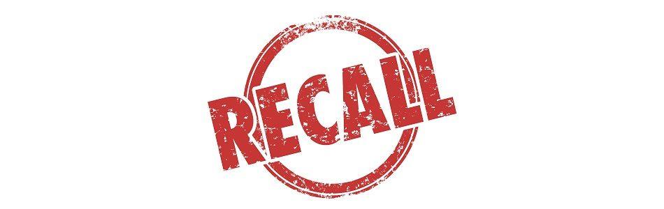 E-cig recall