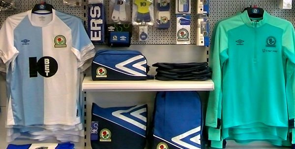 Blackburn Rovers merchandise