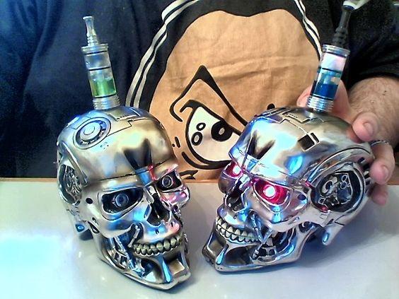 Craziest Vape Mods - Skull e-cig