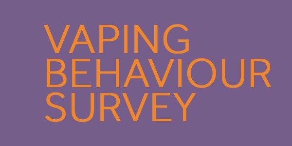 vaping behaviour survey