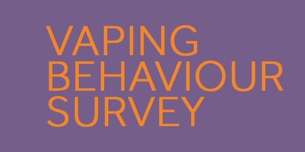 vaping behaviour survey
