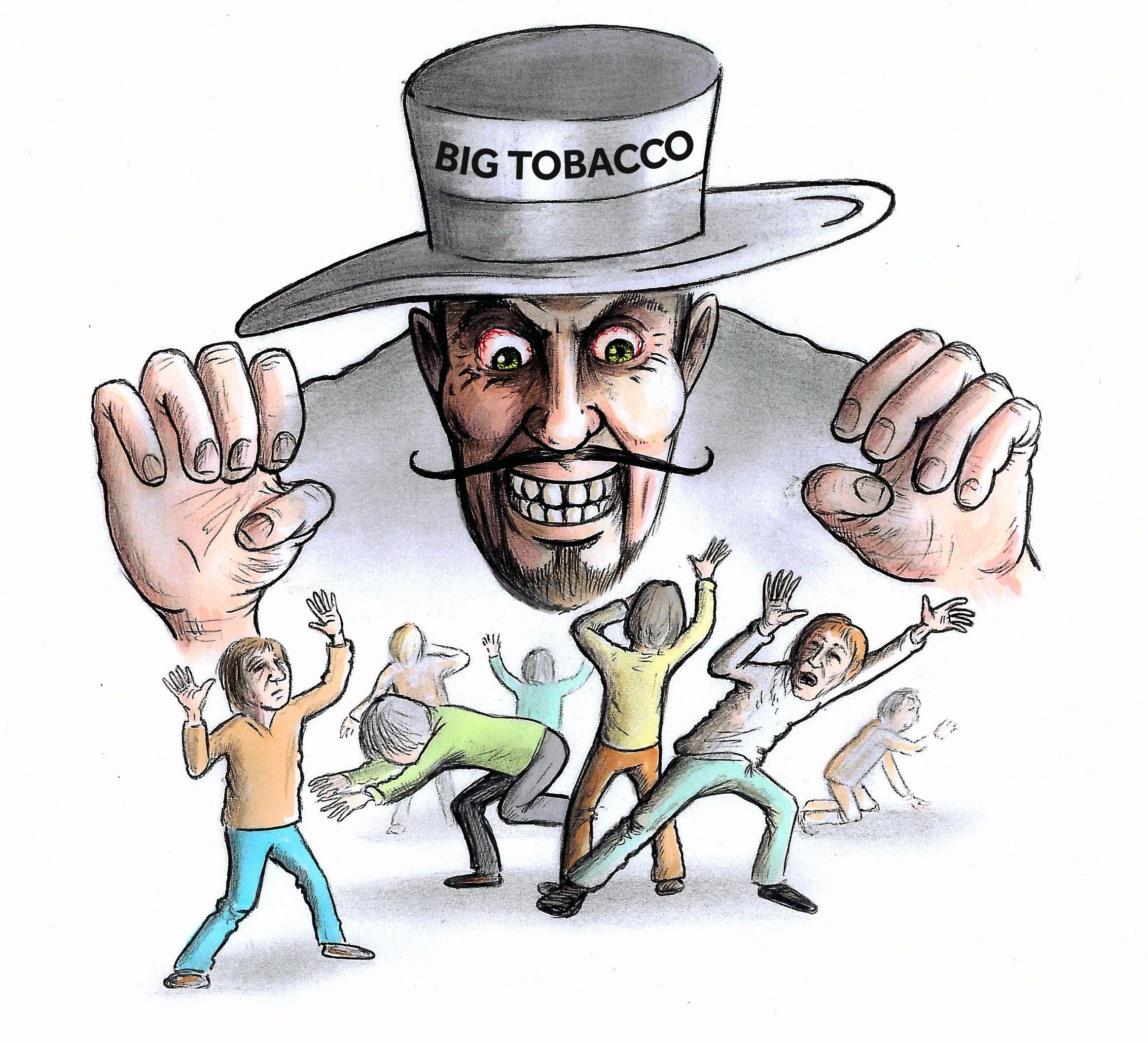 Big Tobacco's vaping creep