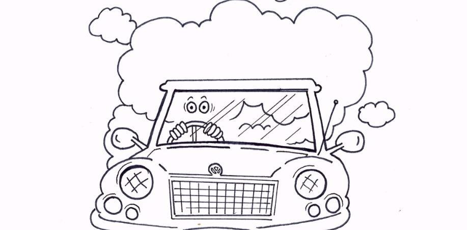 Vape Cloud whilst Driving