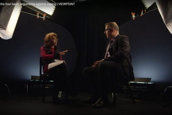 Sally Satel and Clive Bates debate Vaping