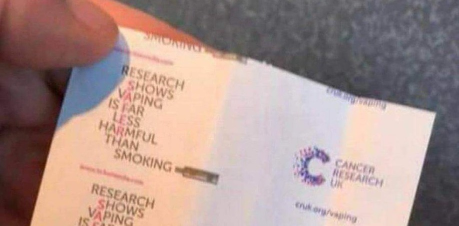 Cancer Research UK bus ticket