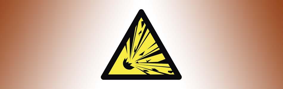 explosion warning