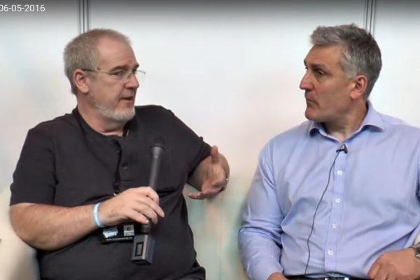 Fraser Cropper and Dave Dorn
