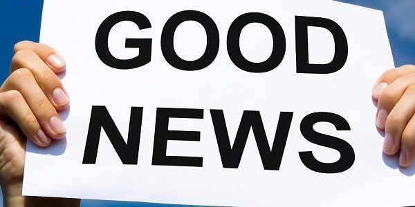 Good news sign