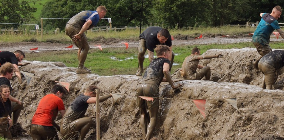Muddy Humps at Tough Mudder